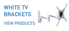 WHITE TV brackets