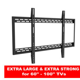 "Guaranteed to fit   60""-100""  TVs"